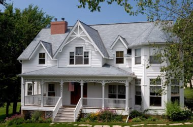 Roof that matches Victorian home