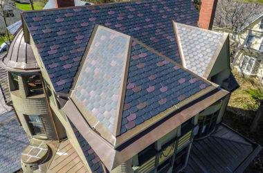 Majestic Slate Synthetic Slate Roofing Tiles Ecostar