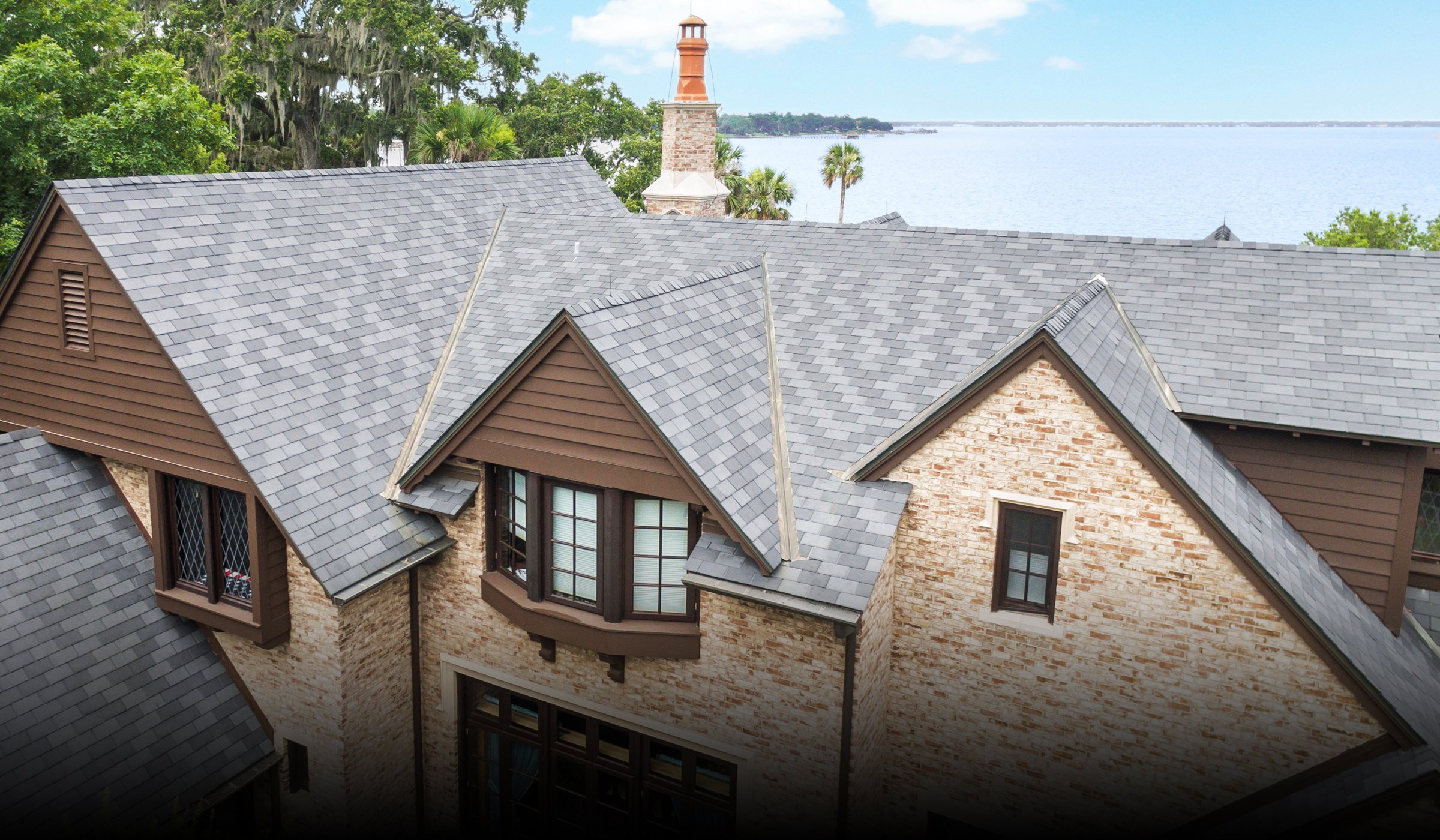 Synthetic Slate and Cedar Shake Roofing Products | EcoStar