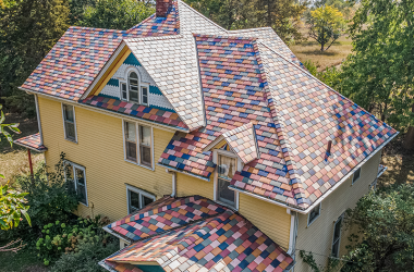 Roof color can be fun